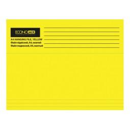 Файл підвісний А4 Economix, картоний, жовтий