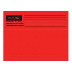 Файл підвісний А4 Economix, картоний, червоний