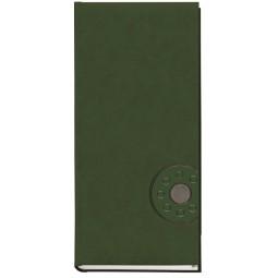 Книга алфавитная А5, 112лист., 145х202мм, баладек черный