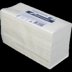 Полотенца целлюлозные V-образные.,200шт., Buroclean 2х сл., белый