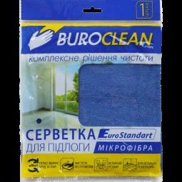 Салфетка для пола, микрофибра, BuroClean EuroStandart 50х60 см