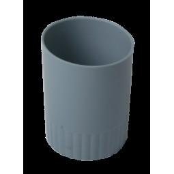 Стакан пласт. для письменных принадлежностей JOBMAX, серый