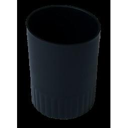Стакан пласт. для письменных принадлежностей JOBMAX, черный