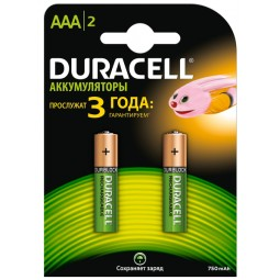 """Акумулятор AAA """"Duracell"""" 750 mAh (по 2шт.)"""