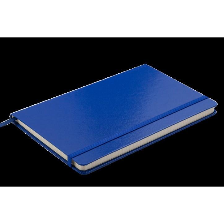 Блокнот деловой STRONG LOGO2U 125x195мм, 80л., клетка, темно-синий