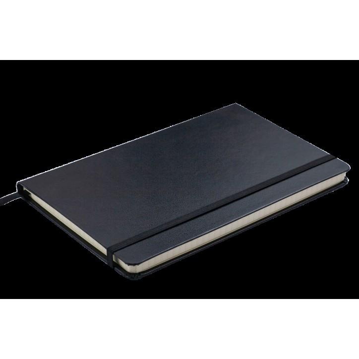 Блокнот деловой STRONG LOGO2U 125x195мм, 80л., клетка, черный