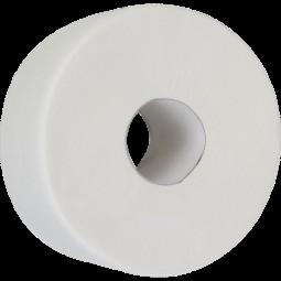 """Бумага туалетная целлюлозная """"Джамбо"""", 130м, на гильзе"""
