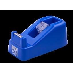 Диспенсер для канцелярского скотча ( р-р:122x60x50мм), синий