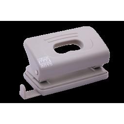 Дырокол пластиковый (толщ.: ~10л.; р-р: 120х58х59мм), серый