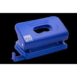 Дырокол пластиковый (толщ.: ~10л.; р-р: 120х58х59мм), синий