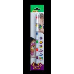 Карандаши для грима лица и тела, 6 цветов неон,  KIDS Line
