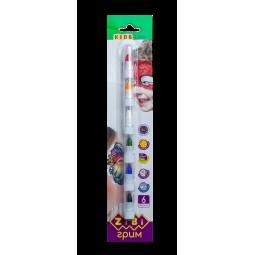 Карандаши для грима лица и тела, 6 цветов стандарт,  KIDS Line