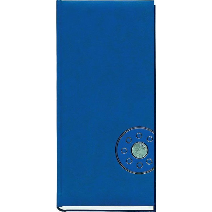 Книга алфавитная 135х285мм, 176 листов., 135х285мм, баладек синий