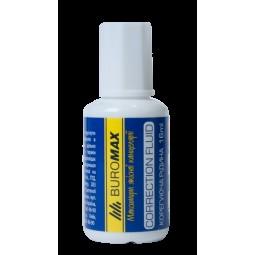 Корректирующая жидкость с кисточкой,16 мл, JOBMAX
