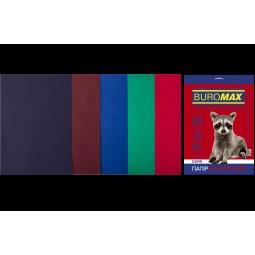 Набір кольорового паперу А4, 80г/м2, DARK 5цв., 50л.