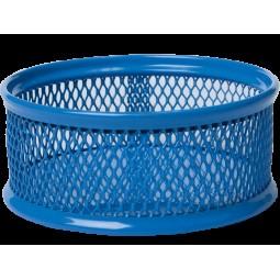 Подставка для скрепок BUROMAX, металлическая, синий