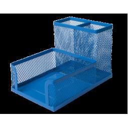 Прибор настольный BUROMAX, металлический, синий