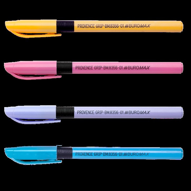 Ручка масляная ProvenceGrip, синяя