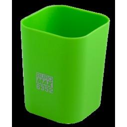 Стакан пласт. RUBBER TOUCH для письменных принадлежностей, св-зеленый