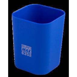 Стакан пласт. RUBBER TOUCH для письменных принадлежностей, синий