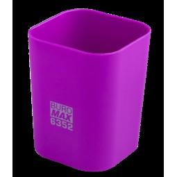 Стакан пласт. RUBBER TOUCH для письменных принадлежностей, фиолетовый