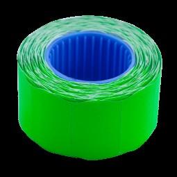 Ценник 26*16мм (375шт, 6м), фигурный, внешняя намотка, зеленый