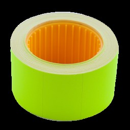 Ценник 30*20мм (300шт, 6м), прямоугольный, внешняя намотка, зеленый