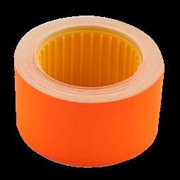 Ценник 30*20мм (300шт, 6м), прямоугольный, внешняя намотка, оранжевый