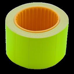 Ценник 35*25мм (240шт, 6м), прямоугольный, внешняя намотка, желтый