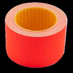 Ценник 35*25мм (240шт, 6м), прямоугольный, внешняя намотка, красный
