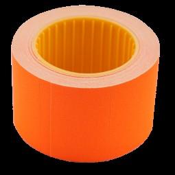 Ценник 35*25мм (240шт, 6м), прямоугольный, внешняя намотка, оранжевый