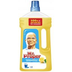 """Засіб універсальний """"MR. PROPER"""", 1л, лимон"""