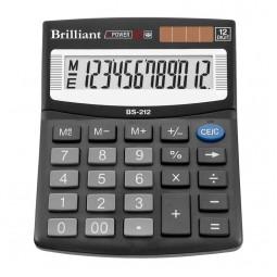 Калькулятор Brilliant BS-212, 12 розрядів