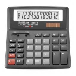 Калькулятор Brilliant BS-312, 12 розрядів