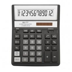 Калькулятор Brilliant BS-777ВК, 12 розрядів, чорний