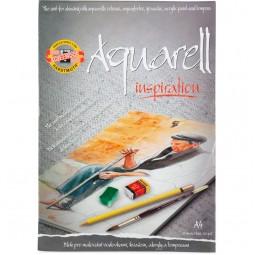 Альбом для акварели, 20 лист., A4, 320 г/м2 (эскиз)