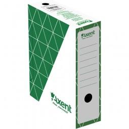 Бокс архивный 100мм, зеленый