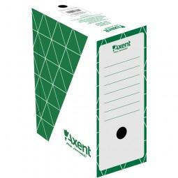 Бокс архивный 80мм, зеленый