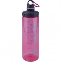 Бутылочка для воды, 750 мл., розовая