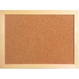 Доска пробковая, 45х60 см., деревянная рамка