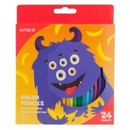 Карандаши цветные, 24 шт. Kite Jolliers