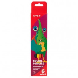 Карандаши цветные, 6 шт. Kite Jolliers