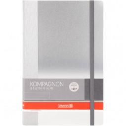 Книга записная Компаньон Aluminium, А5, 96 лист