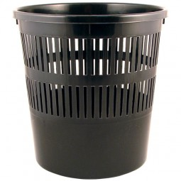 Корзина для бумаг, черная