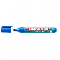 Маркер Flipchart e-380 1,5-3 мм круглый синий
