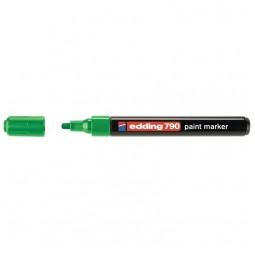 Маркер Paint e-790 2-3 мм круглый зелёный