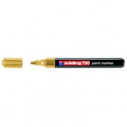 Маркер Paint e-790 2-3 мм круглый золотой