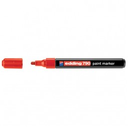 Маркер Paint e-790 2-3 мм круглый красный