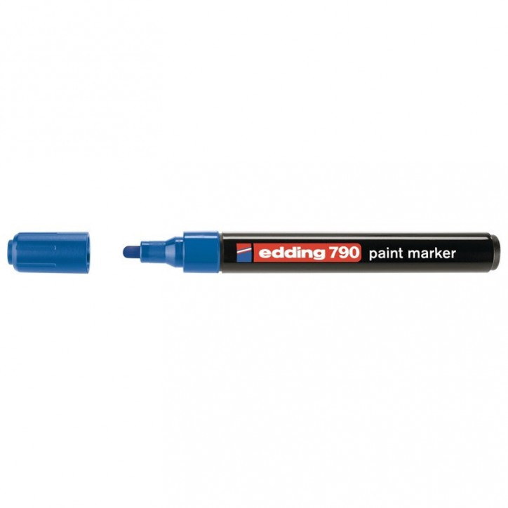 Маркер Paint e-790 2-3 мм круглый синий