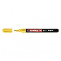 Маркер Paint e-791 1-2 мм круглый жёлтый